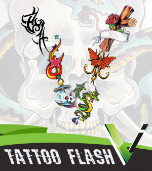 Over 50,000 Tattoo Designs, Flash, and Prints